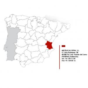 Localizacion metalicas zetra