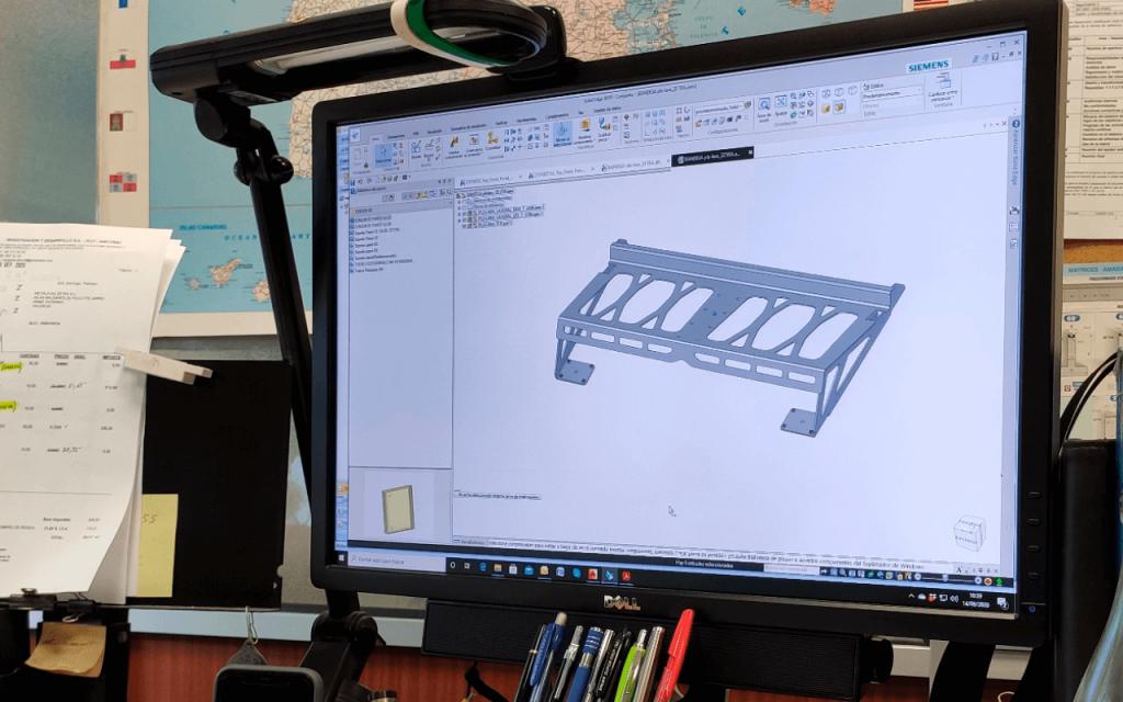 Programa para diseñar estructuras